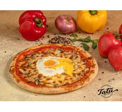 Pizza cu ou